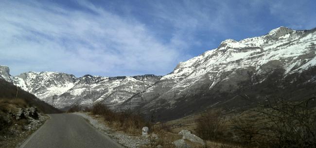 הרים באלבניה