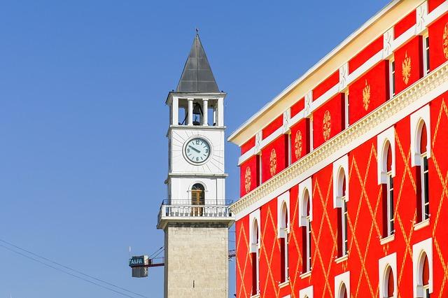 מגדל השעון של טיראנה