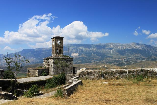נוף טיפוסי באלבניה
