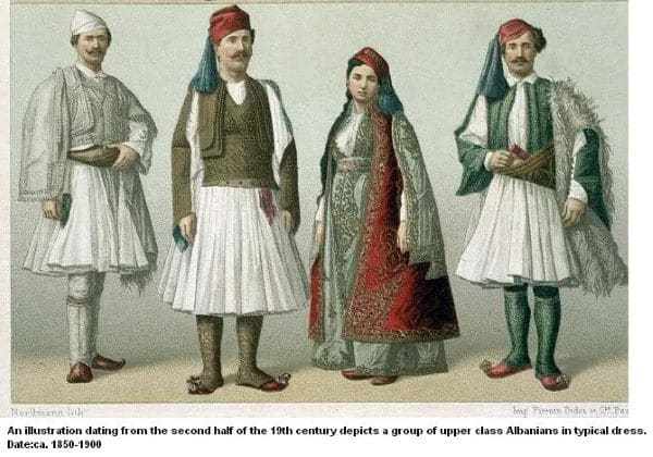 תלבושות אלבניות מסורתיות
