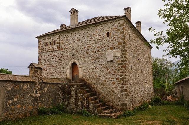 Kulla - מגדל מגורים והגנה טיפוסי לדרום אלבניה