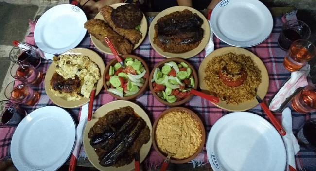 ארוחה דשנה במסעדת לילי
