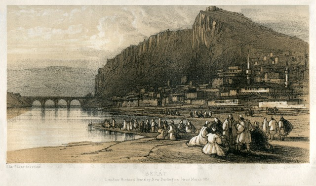 אחד מציוריו של אדוארד ליר שמתאר את בראט בשנת 1851