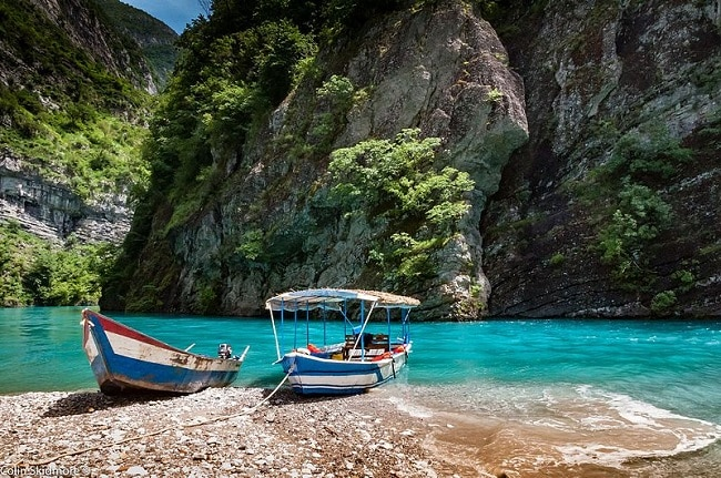 אגם קומאן - אלבניה