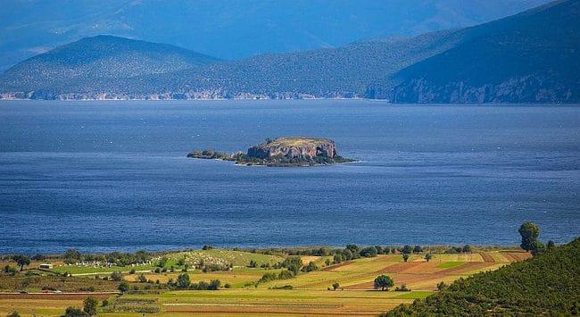 האי Maligrad אלבניה