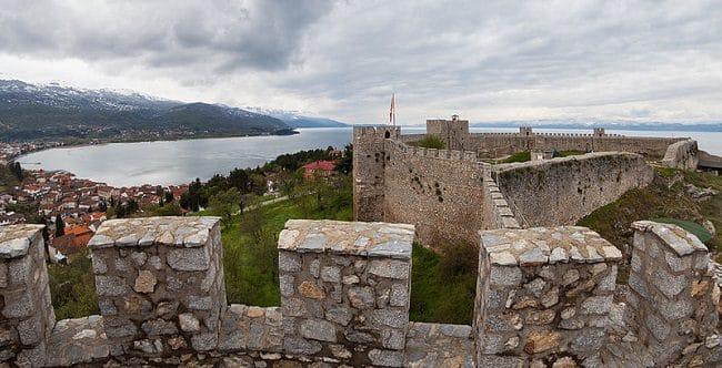 מבצר Fortaleza de Samuel באוחריד