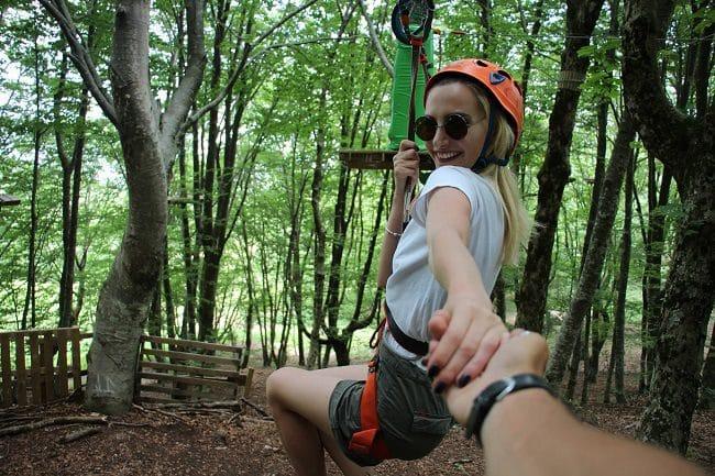 Dajti Adventure Park פארק החבלים בטירנה