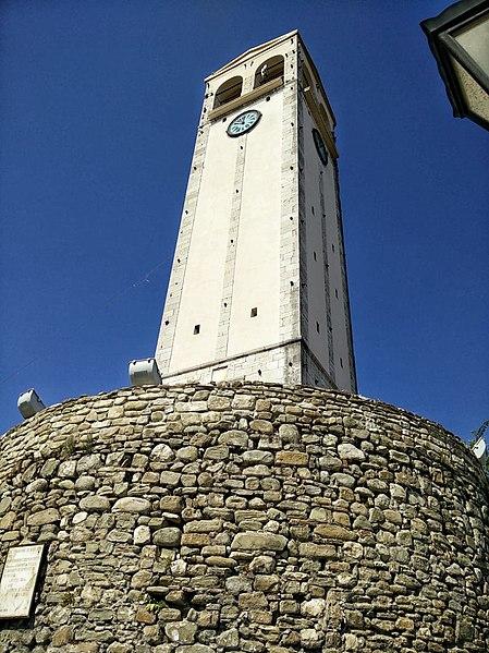 מגדל השעון Sahati באלבסן