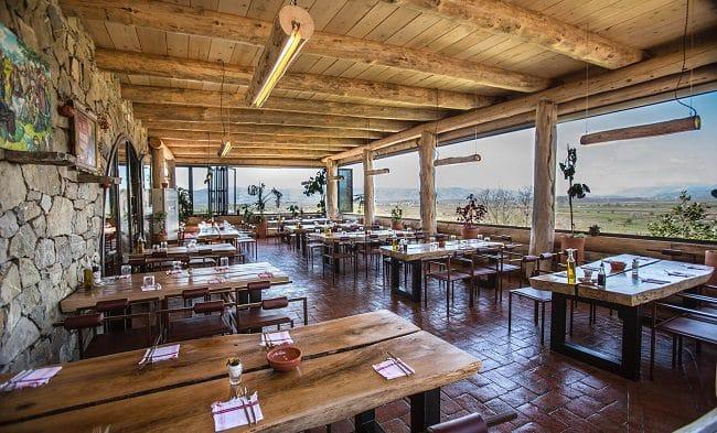 מסעדת Mrizi i Zanave Agroturizëm בצפון אלבניה