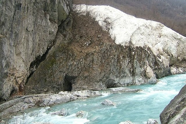 נהר וולבונה בפארק הלאומי