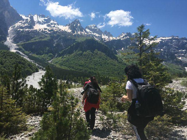טרק פסגות הבלקן באלבניה