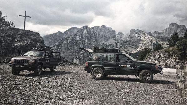 הגעה לנקודת המוצא של טרק פסגות הבלקן