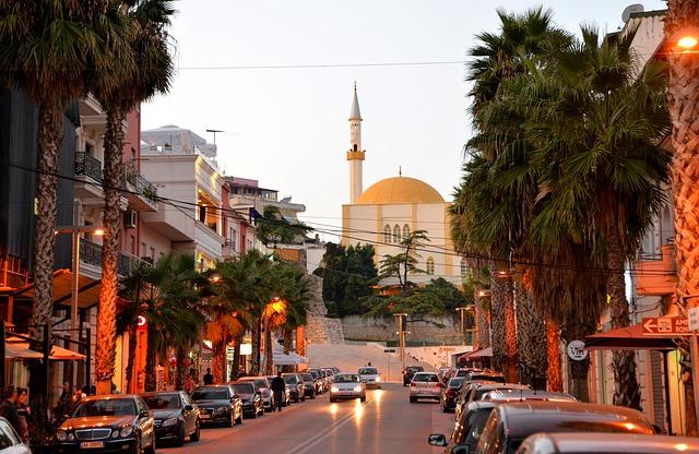 המסגד בטירנה - אלבניה
