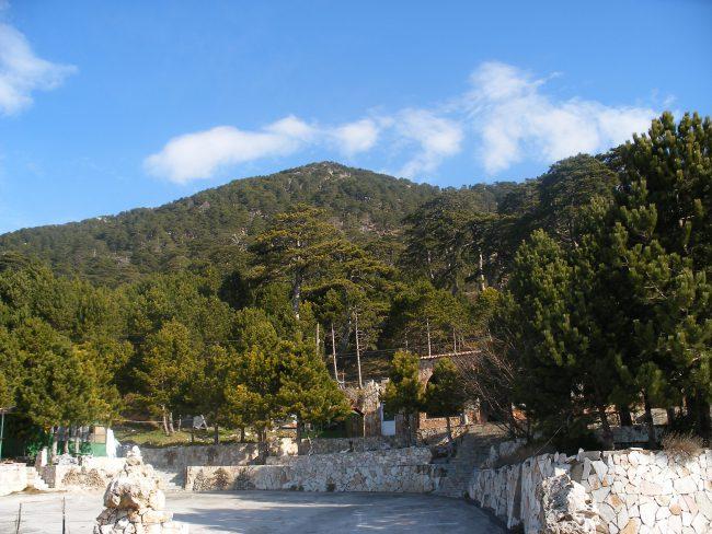 הכניסה לפארק הלאומי לוגארה