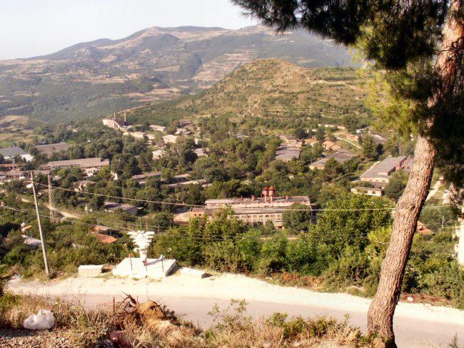 הכביש ממונטנגרו לאלבניה
