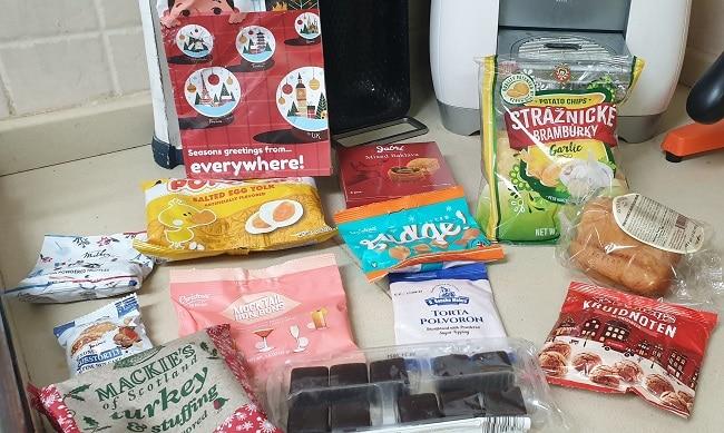 חבילת ממתקים מכל העולם